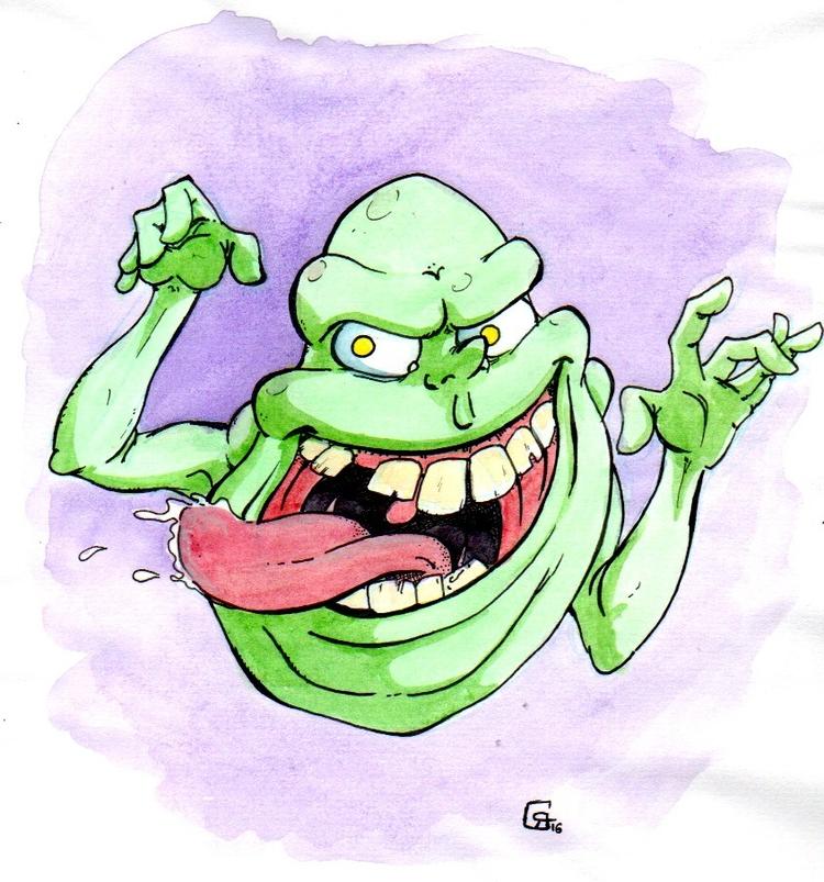 feutre aquarelle, format a5 - ghostbusters, - romgondy | ello