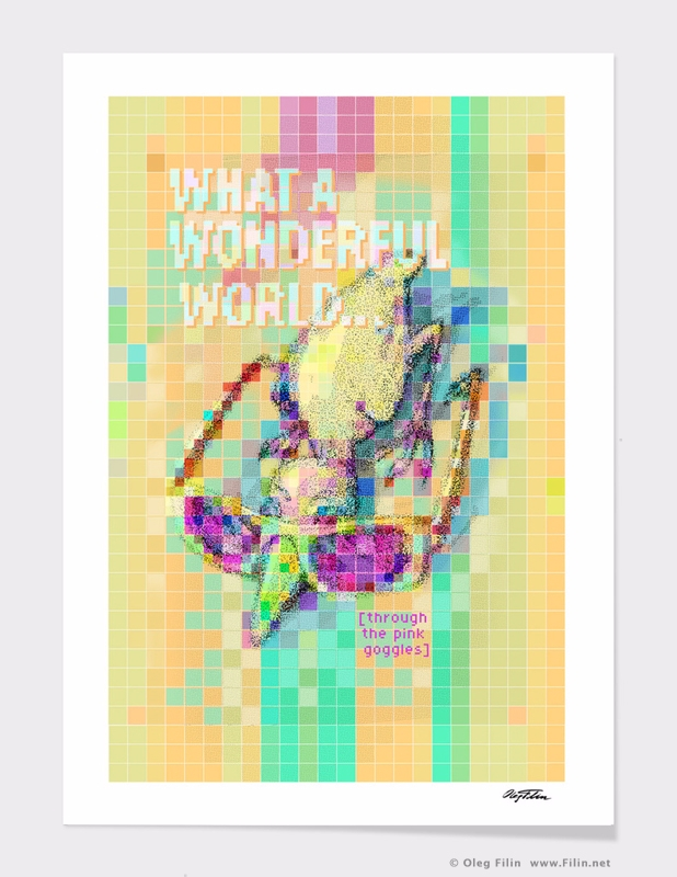 Wonderful World... digital draw - filin | ello