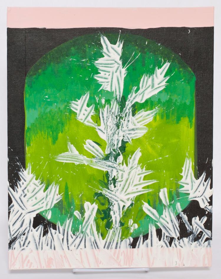 Acrylic painting experiments - thebeanstalkstudio - sarahthebeanstalk | ello