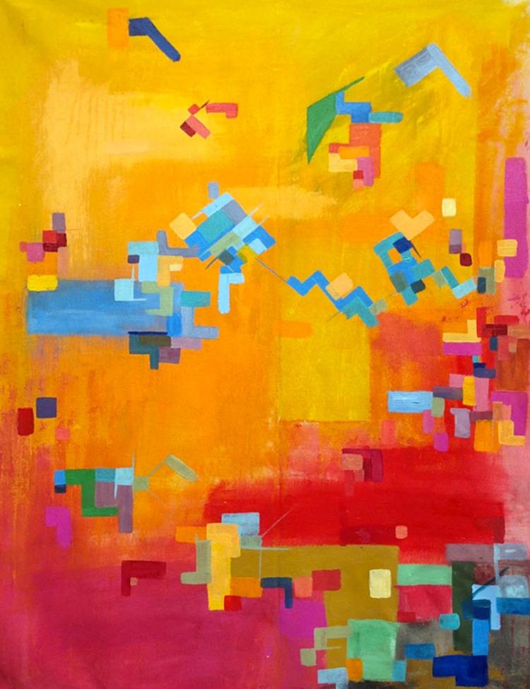 create paintings parallel utopi - crystalfischetti | ello