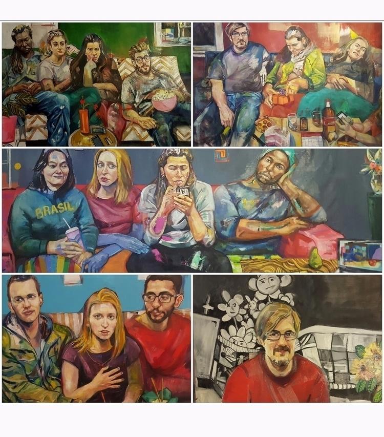 Samples latest paintings visit  - darlanorma | ello