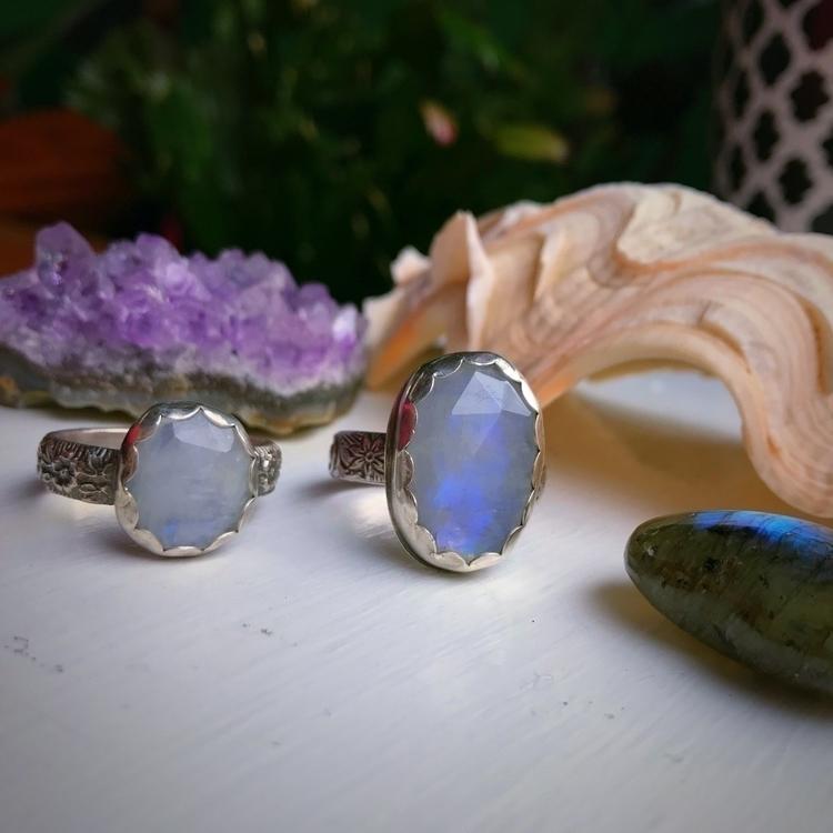 jewelry, moonstone, silverjewelry - maryaboast | ello