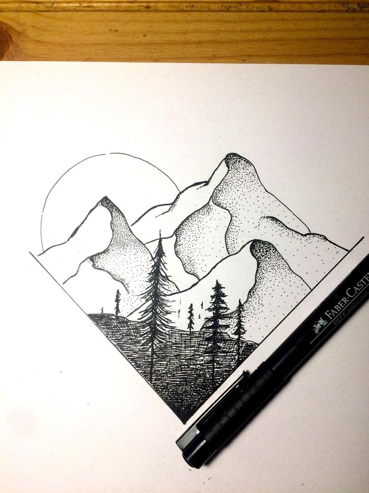 15 minute drawing 13 365 - dots - massimorinaldi27 | ello