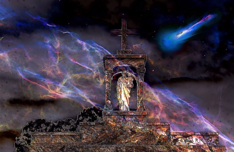 glimpse spiritworld - Walking C - greycrossstudios | ello