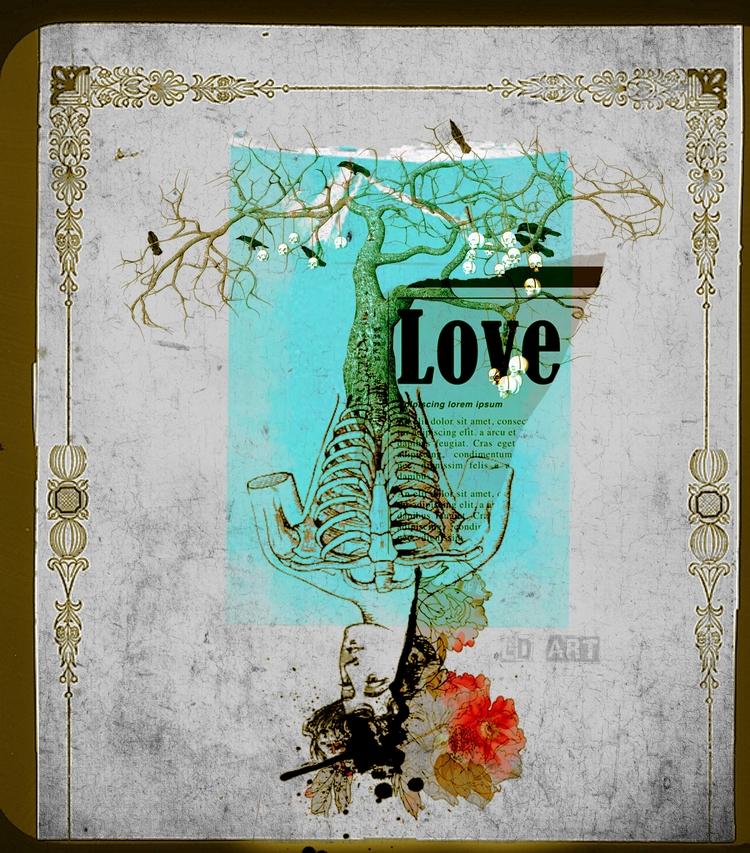 Love Grows Website - Shop Insta - lucydyerart | ello