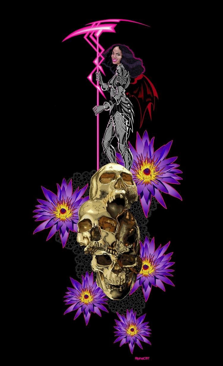 Beware reaper - blackgirlmagic, Blackgirlsrock - alphacmt | ello