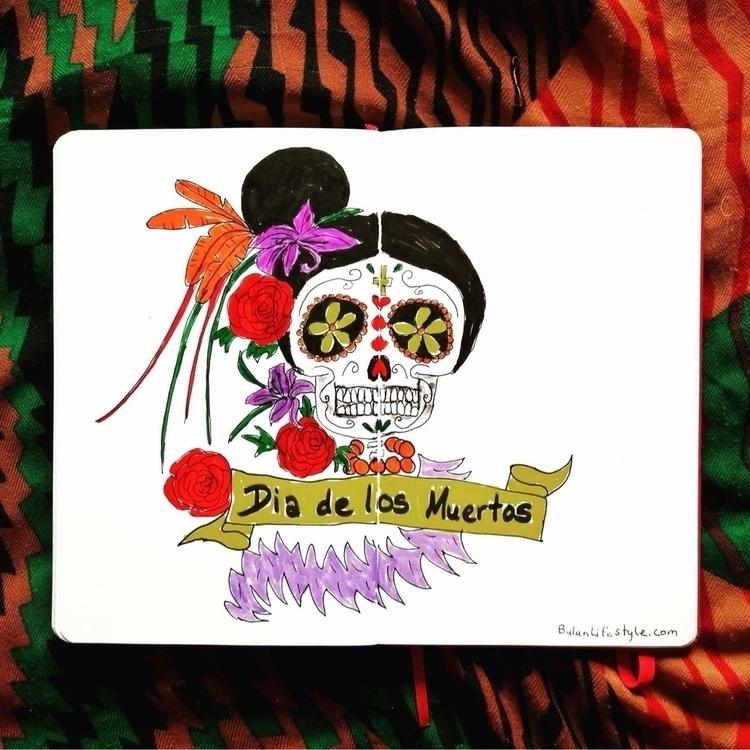 Dia de los muertos. day celebra - bulanlifestyle | ello