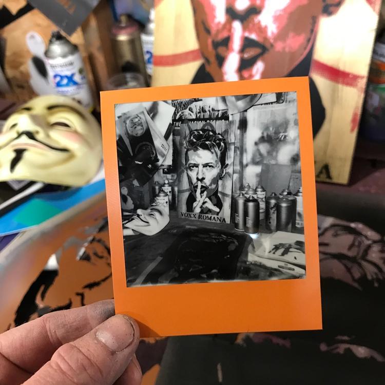 Impossible project film Black w - voxxromana | ello