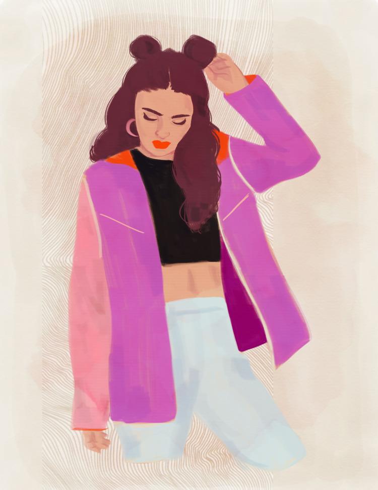fashion, fashionillustration - cariguevara | ello