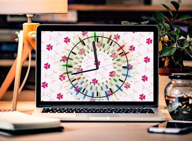 Desktop Clock - clock, desktop, novelty - artlikesyou | ello
