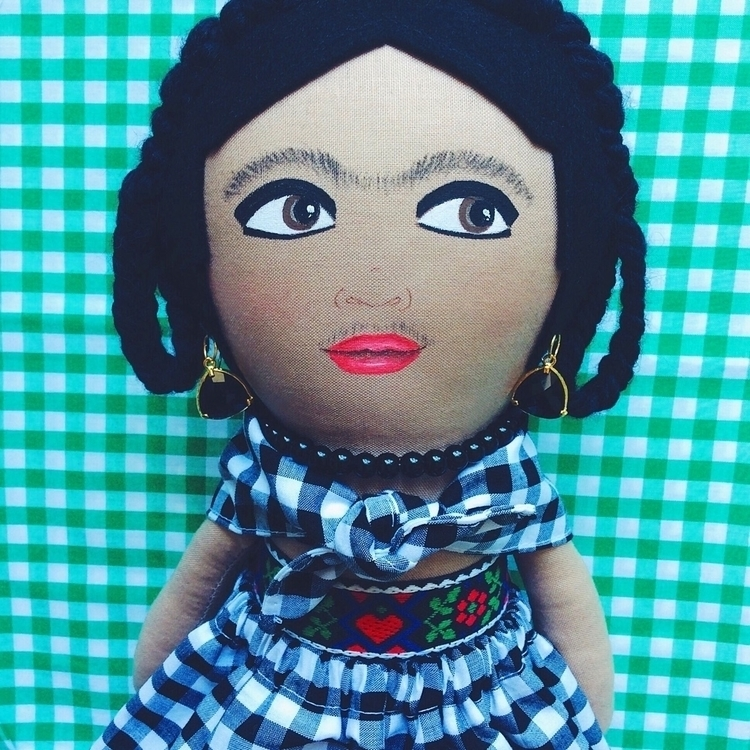 fabric dolls making year, shop  - alittlevintagedoll | ello