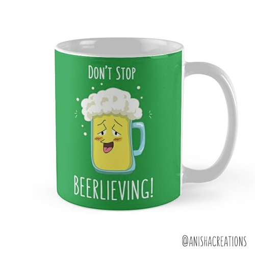 stop ... BEERLIEVING - beer, funny - anishacreations | ello