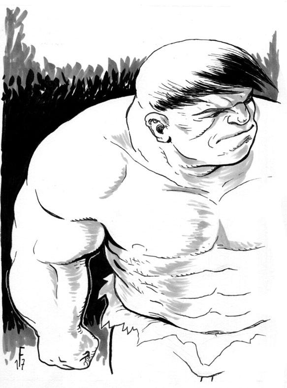 Hulk  - hulk, marvel, crobars, muscle - fredgri | ello