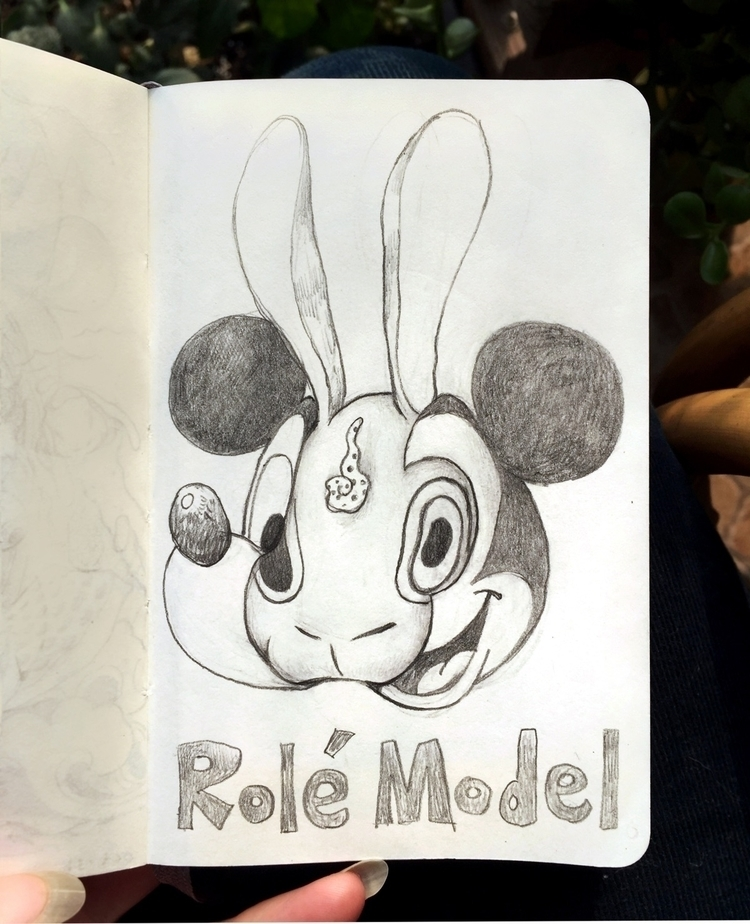 drawing, doodle, sketchbook, moleskine - alice_lin | ello