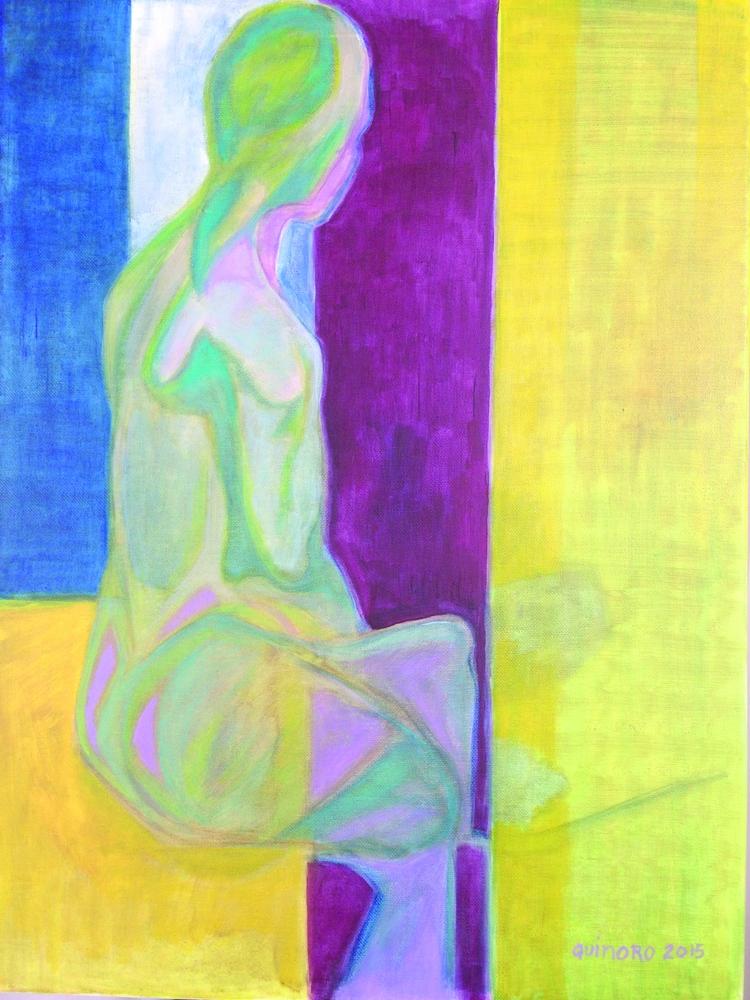 Meditative State. Acrylic canva - quinoro | ello