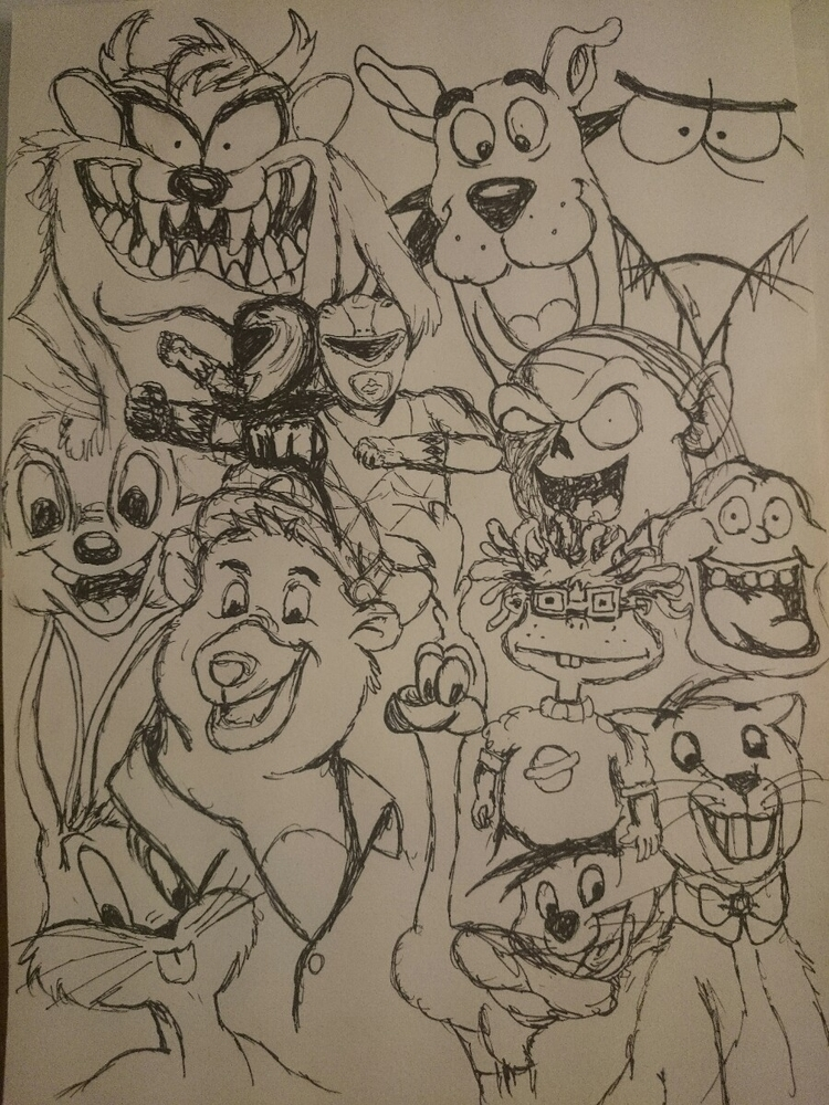 90s, elloart, scribble - digital-btk | ello