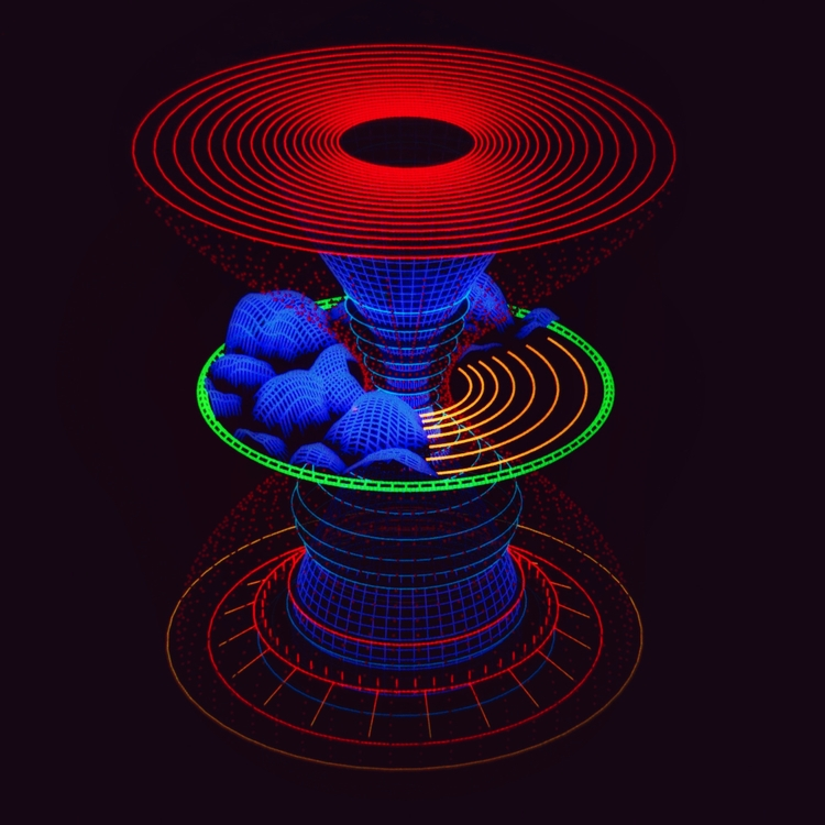 Pulse Wave Converter  - hologram - mjmurdock | ello