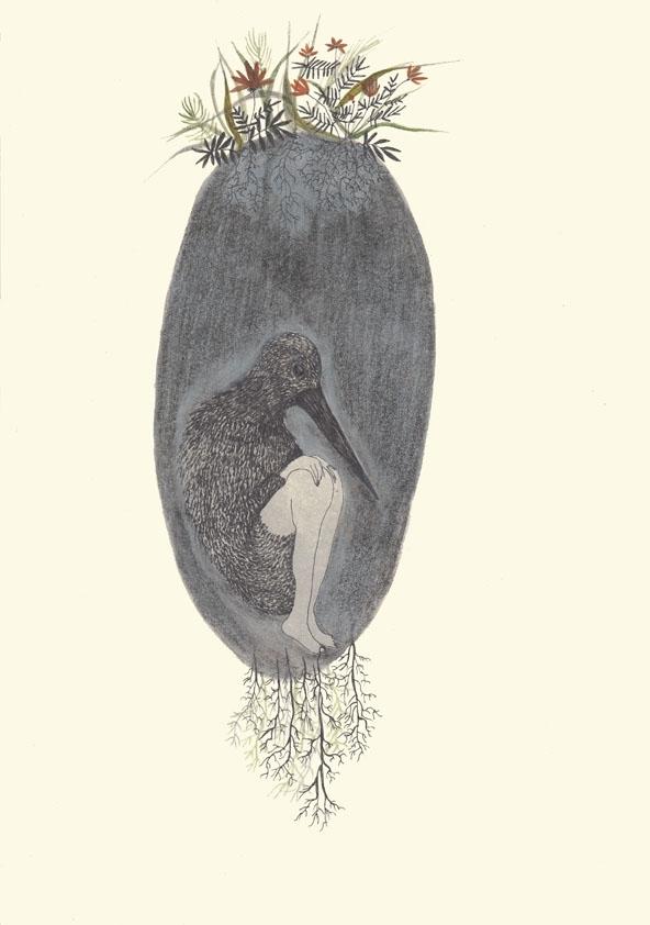 Illustration poetry book Leucht - spoto | ello