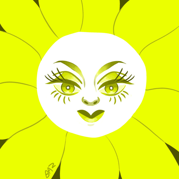 Huevember day 1 - yellow, digitalart - stbaz | ello