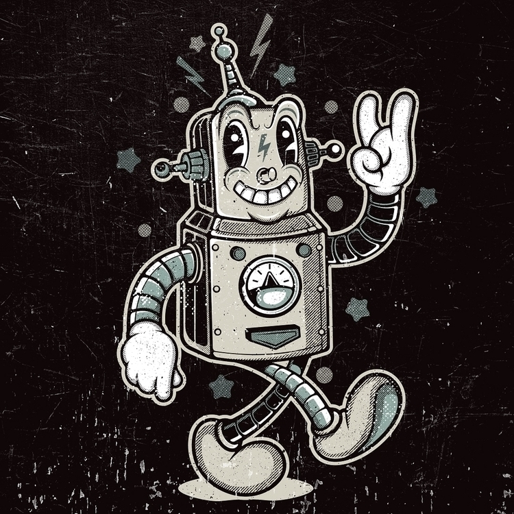 ROBO Behance Instagram - illustration - laserblazt | ello