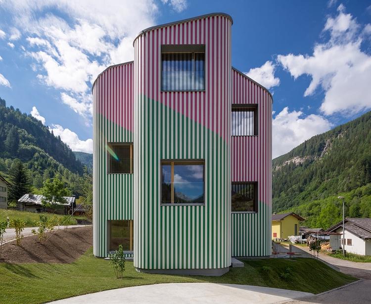 Swisshouse Rossa Davide Macullo - elloarchitecture | ello