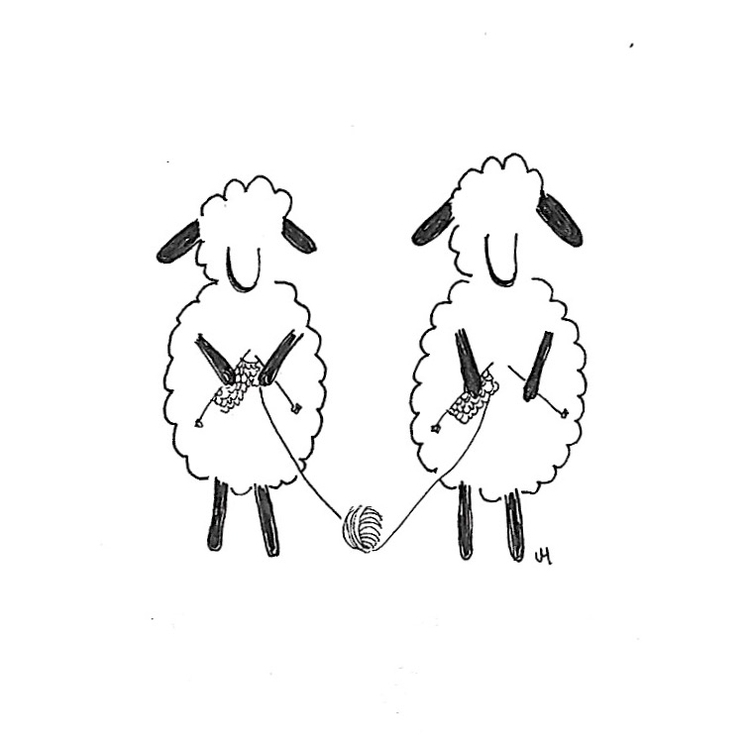 Sheep Fiber Arts Collective. IG - jenniferhoyden | ello