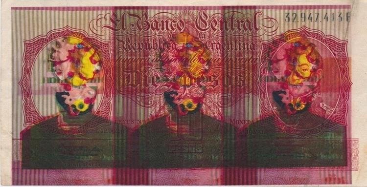 bills - 7, laser, print, 108printedbillsseries - josephsohn | ello