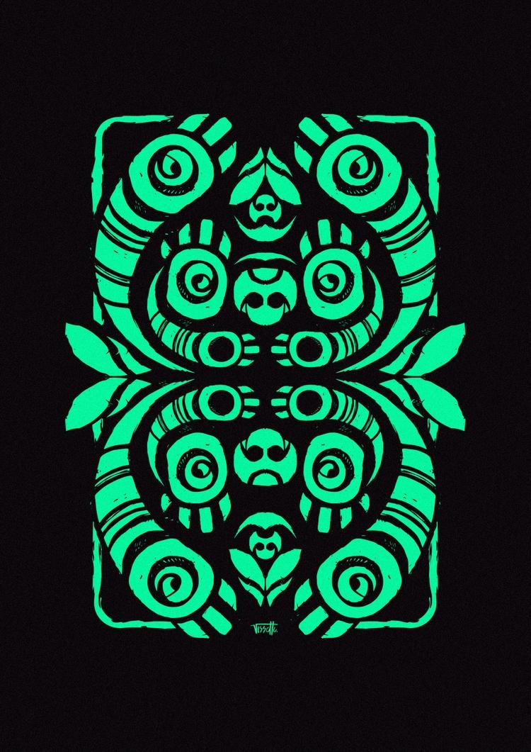 Spirit - vector, graphic, design - vissotto | ello