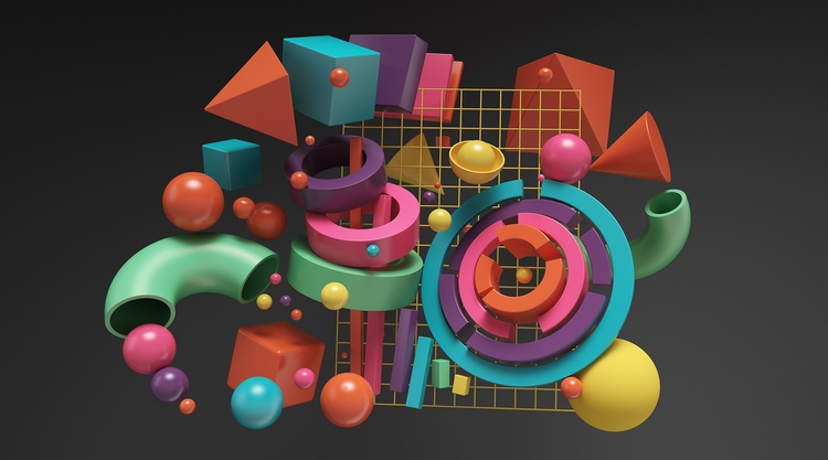 ILLUSTRATION SET - hipoly, CGdelight - ateliermartini | ello