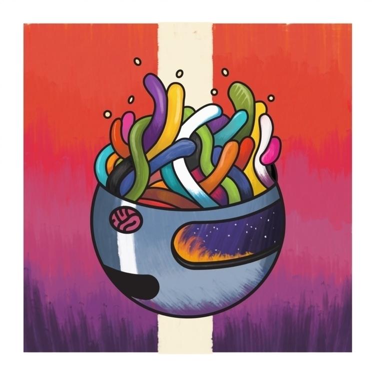 Headspace - illustration, surreal - maplekeystudio | ello