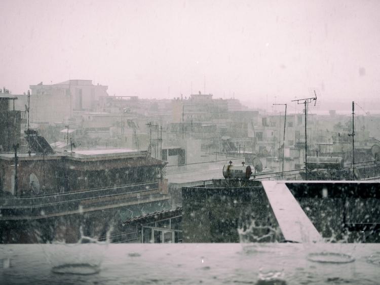 rain, photography, blackandwhite - konstantinosskoupras | ello