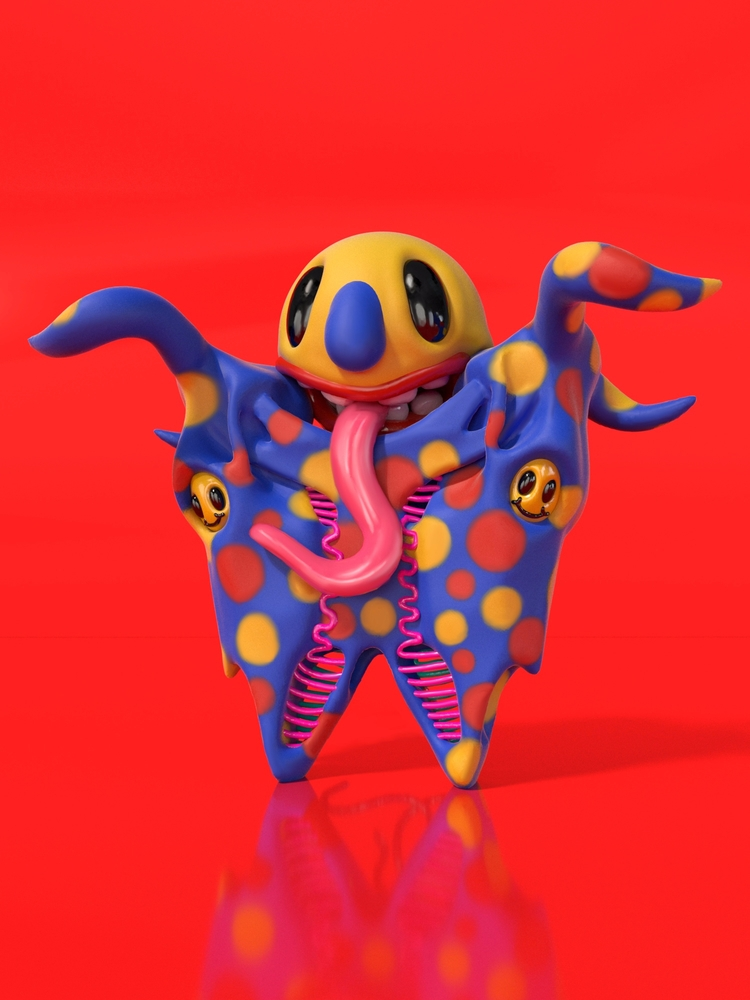 Eye Bubbled Joyful Double - VirtualReality - joy | ello