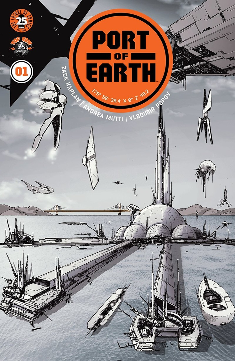 Port Earth Review Gritty sci-fi - comicbuzz | ello