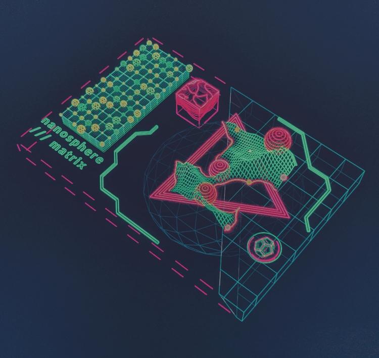 Nanosphere Matrix  - hologram, scifi - mjmurdock | ello