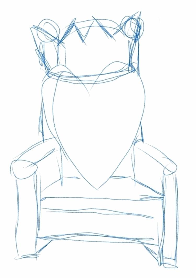 WIP concept sketch, Put Love Th - ferdiz | ello