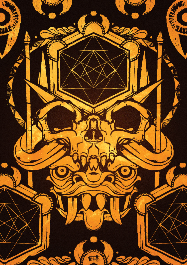 Blergh - vector, demon, illustrator - vissotto   ello
