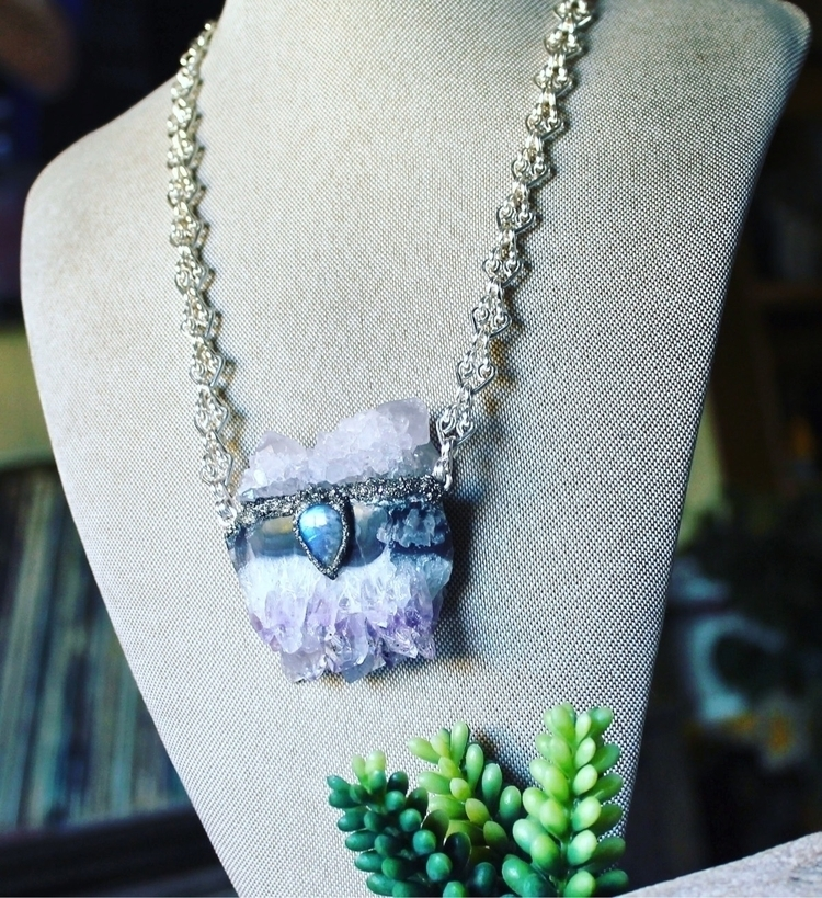 Amethyst, spirit quartz rainbow - mermaidtearshawaii | ello