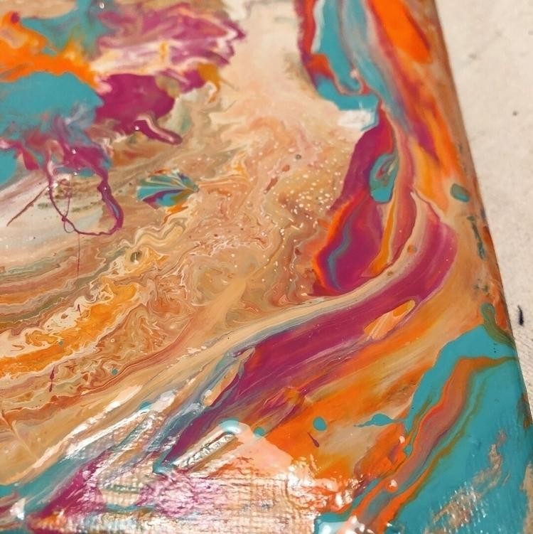 Moving paint 1st step stagnancy - dominique_art | ello