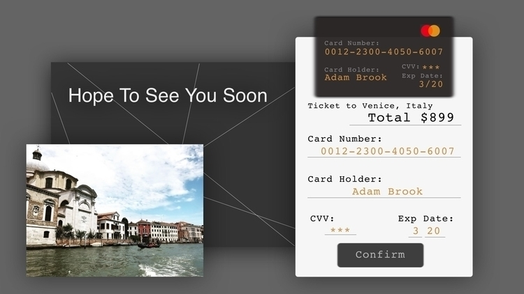 Ticket Venice today, excited. C - jannatli | ello