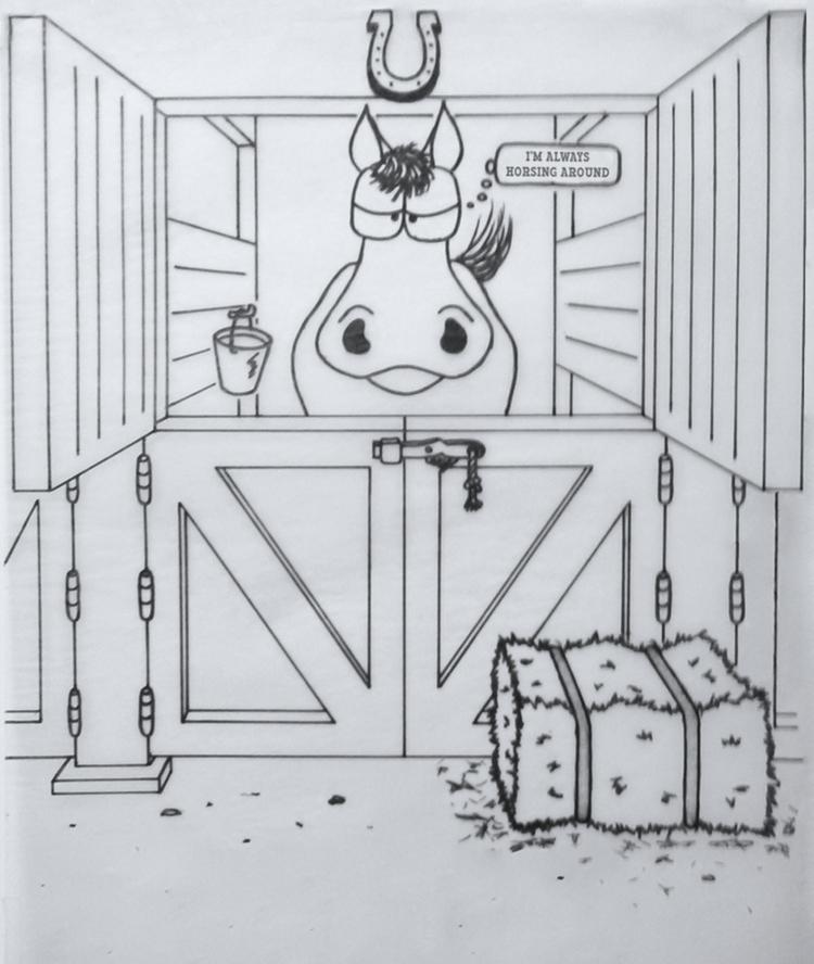 drawing, ink, marker, cartoon - kut-n-paste   ello