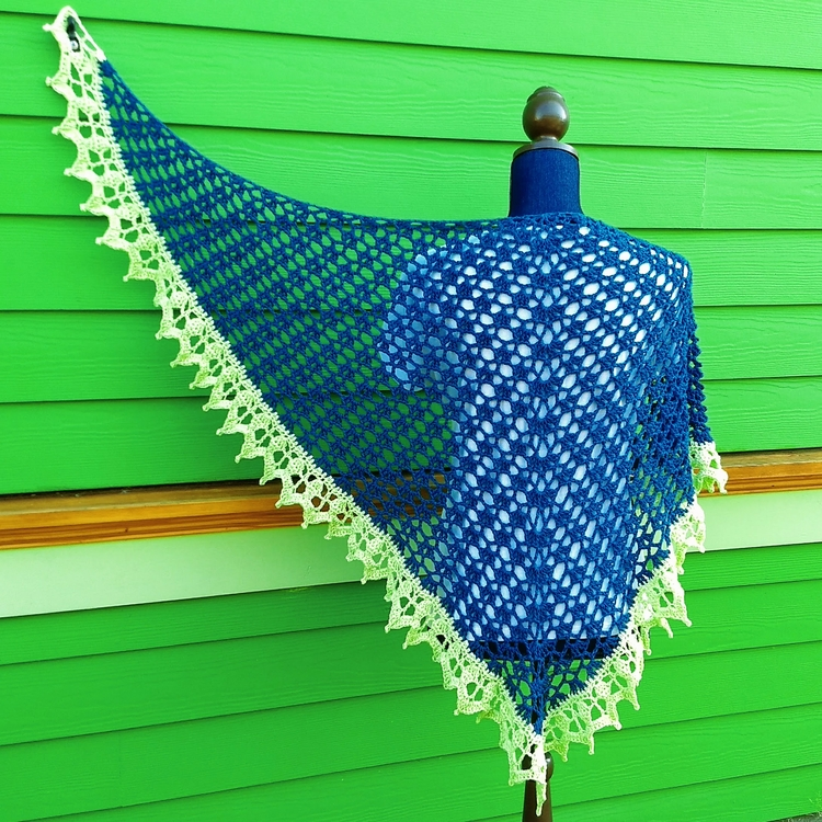 shop: Royal Shawl! bright green - miniaturemonkeycreations | ello