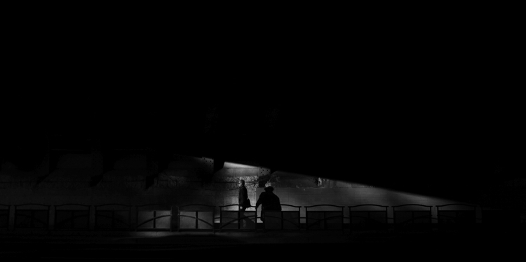 Solo | bridge - BlackandWhite, shadowandlight - ardeanpeters | ello