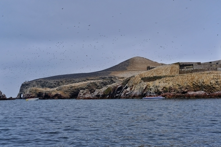 Islas de ballestas mit Touriste - weltfarben | ello