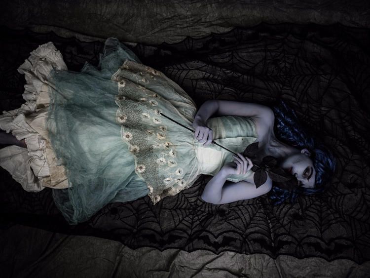 Model, makeup, dress - portrait - darkenergyphotography | ello