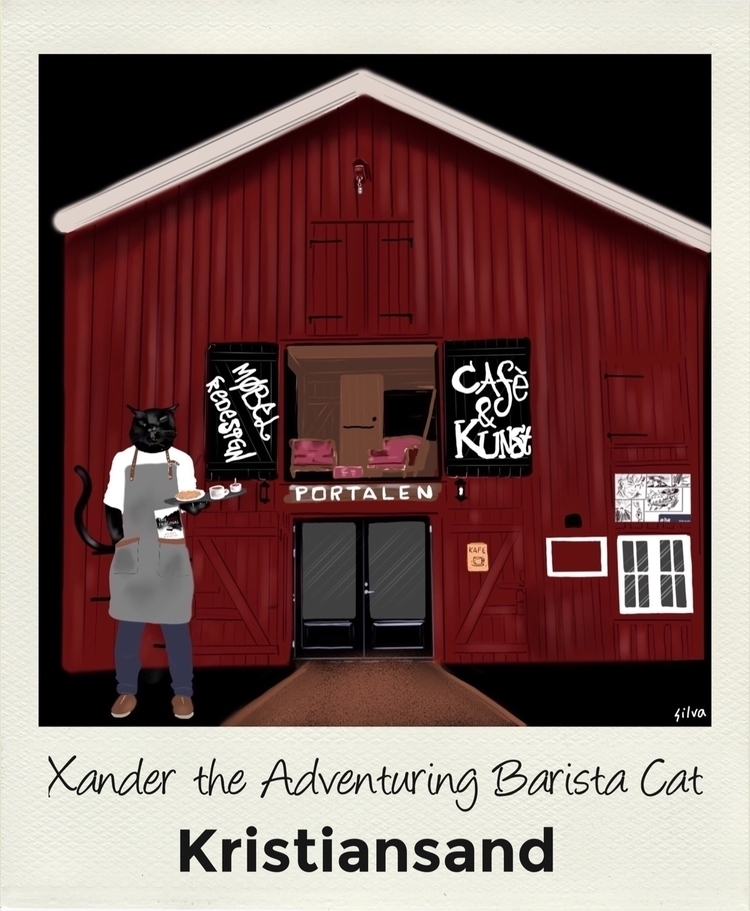 friend Xander Adventuring Baris - nightrav3n | ello