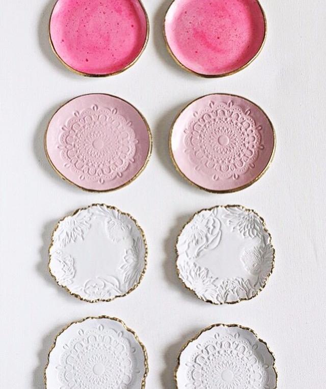 Pink Ombre  - clay, pottery, handmade - azandairalee | ello