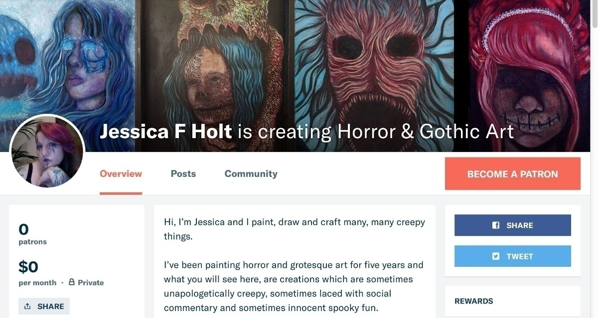 Helloo! exciting news. artist P - jessica_f_holt | ello