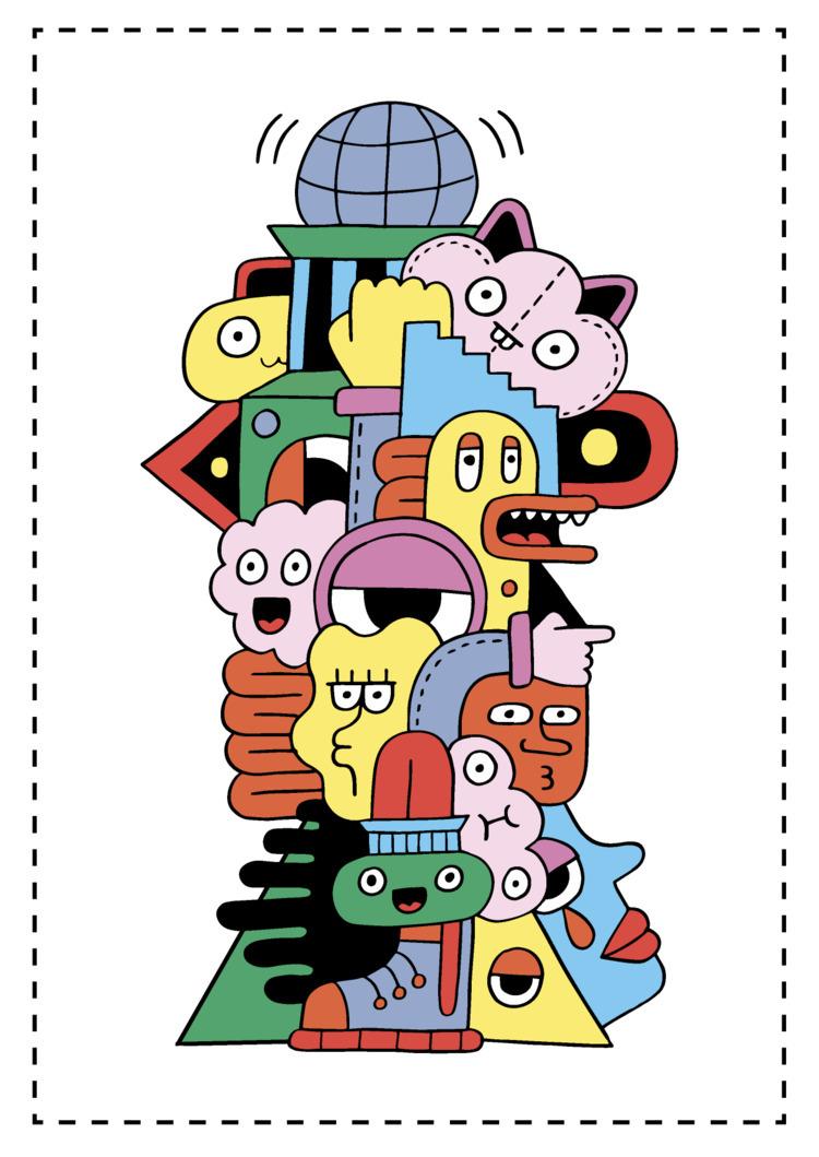 illustration, drawing, art, artwork - douglascavanna | ello