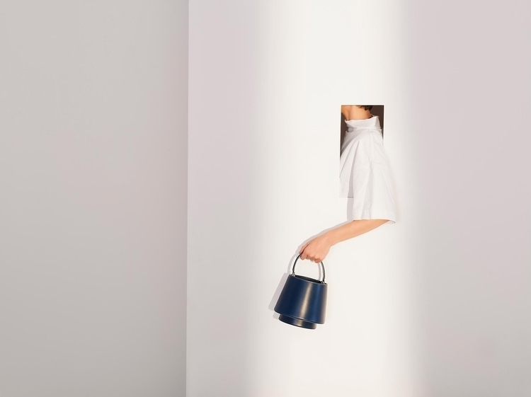 Lantern Bag - NAVY BLUE Flex Cr - rachelmauricio | ello