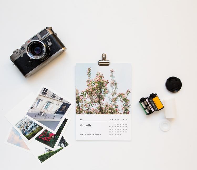 calendar monthly digital mix-ta - eatpomegranate | ello